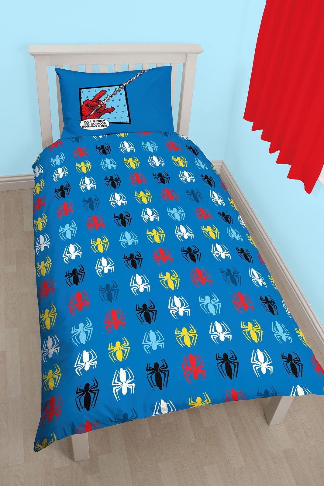 Official-Marvel-Spiderman-Licensed-Duvet-Covers-Single-Double-Far-From-Home thumbnail 26