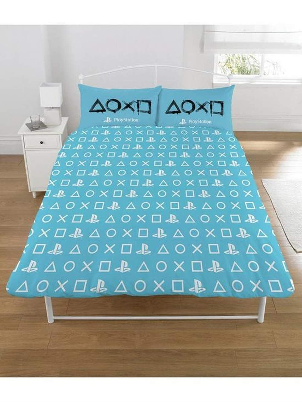 Sony-Playstation-Single-Double-King-Size-Duvet-Quilt-Cover-Set-Boys-Kids-Bedding thumbnail 3
