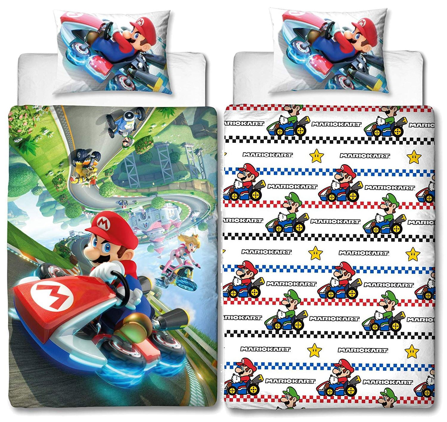 Official-Nintendo-Super-Mario-Licensed-Duvet-Covers-Single-Double-Odyssey-Maker thumbnail 13
