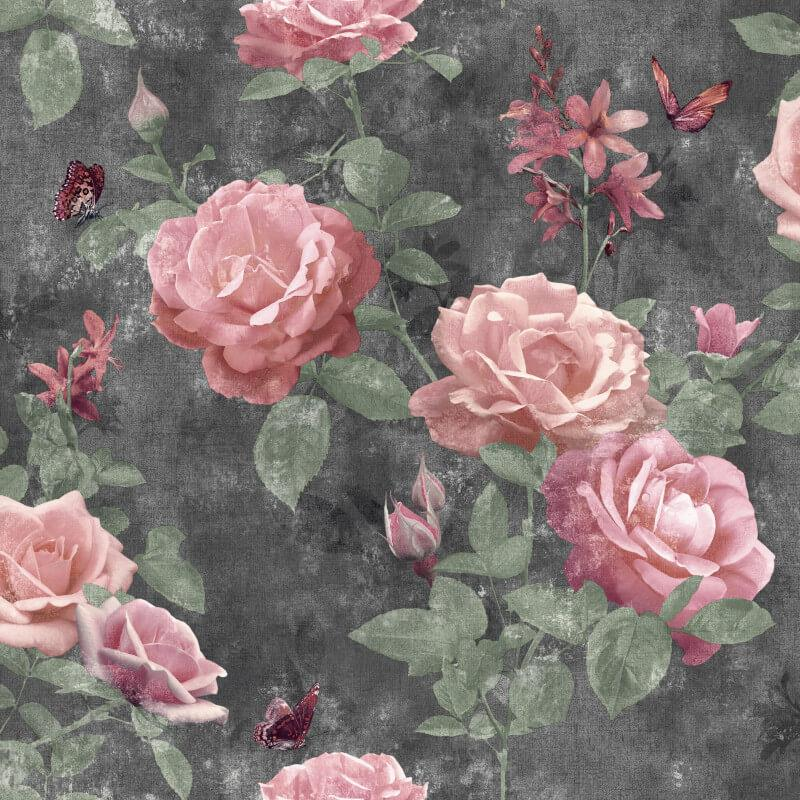 Stunning-Assorted-Floral-Roses-Leaves-10m-Wallpaper thumbnail 41