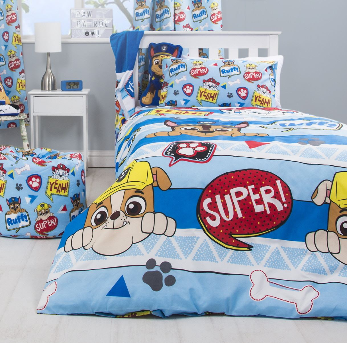 Official-Paw-Patrol-Licensed-Duvet-Covers-Single-Double-Chase-Skye-Marshall thumbnail 33