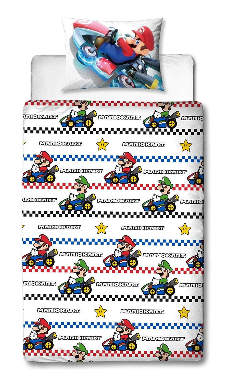 Official-Nintendo-Super-Mario-Licensed-Duvet-Covers-Single-Double-Odyssey-Maker thumbnail 10