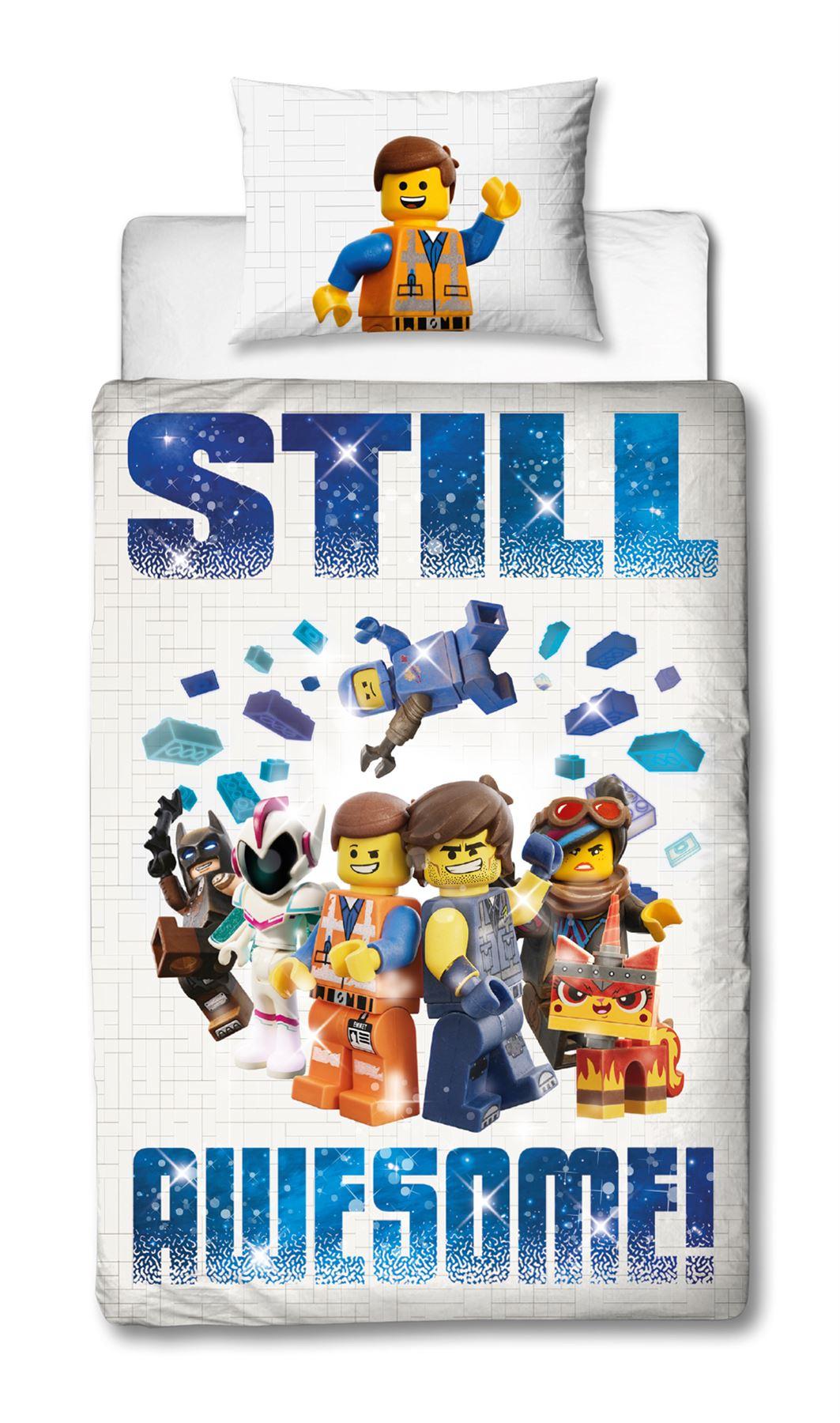 Official-Licensed-Lego-Duvet-Bedding-Ninjago-Batman-Star-Wars-Jurassic thumbnail 24