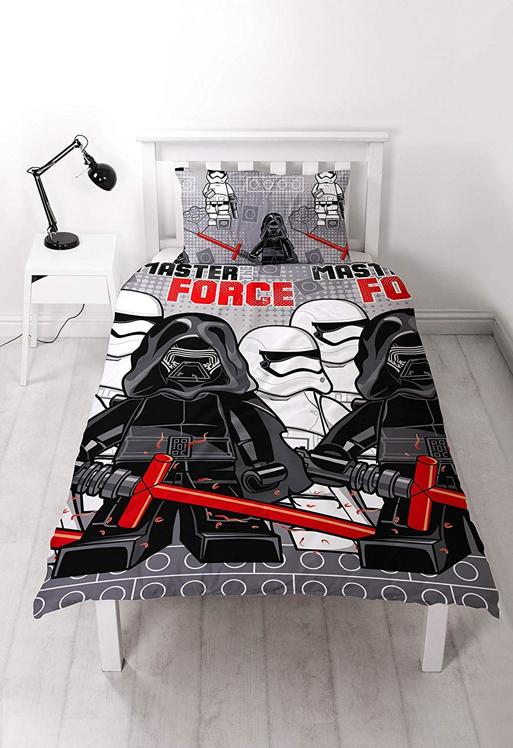 Official-Star-Wars-Licensed-Duvet-Covers-Single-Double-Jedi-Darth-Vader-Lego thumbnail 12