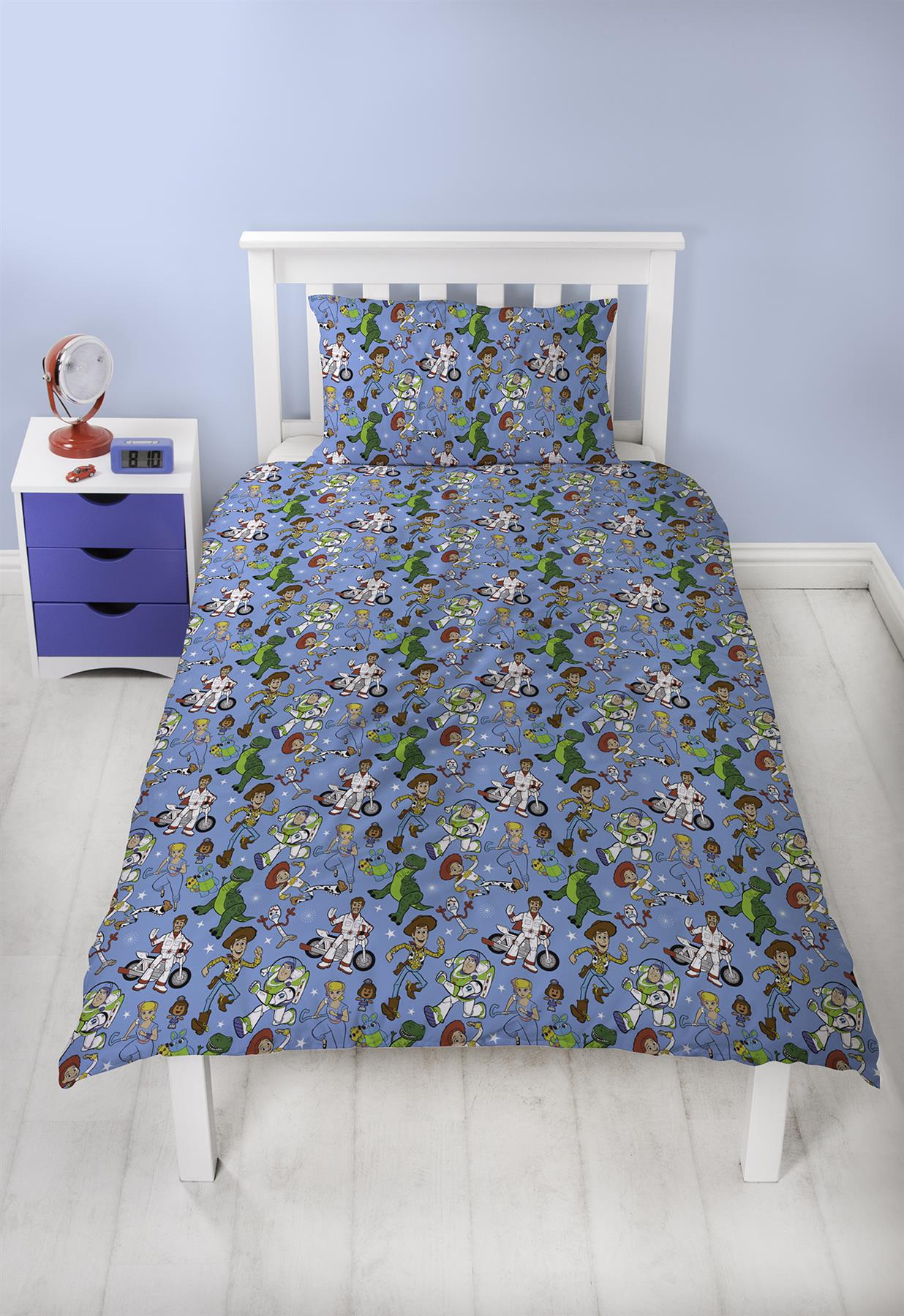 Official-Toy-Story-4-Duvet-Covers-Single-Double-Junior-Bedding-Buzz-Woody-Forky thumbnail 19