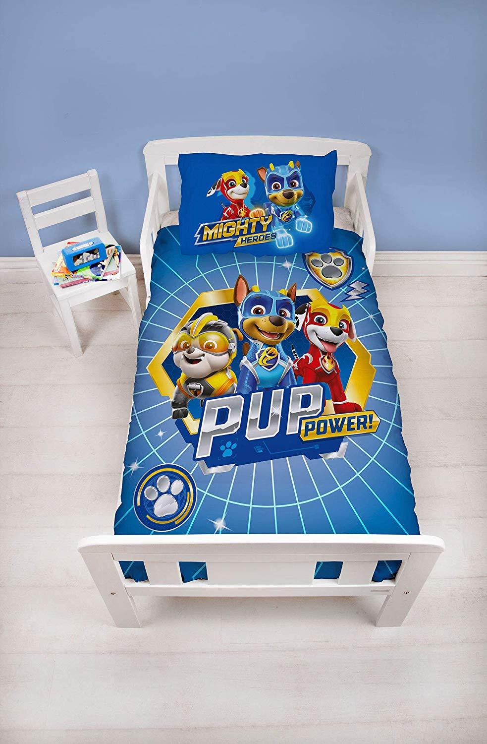 Official-Paw-Patrol-Licensed-Duvet-Covers-Single-Double-Chase-Skye-Marshall thumbnail 39