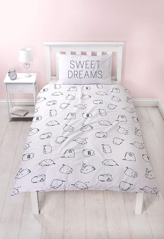 thumbnail 17 - Official Pusheen Sweet Dreams Single/Double/King Reversible Duvet Cover Bed Set