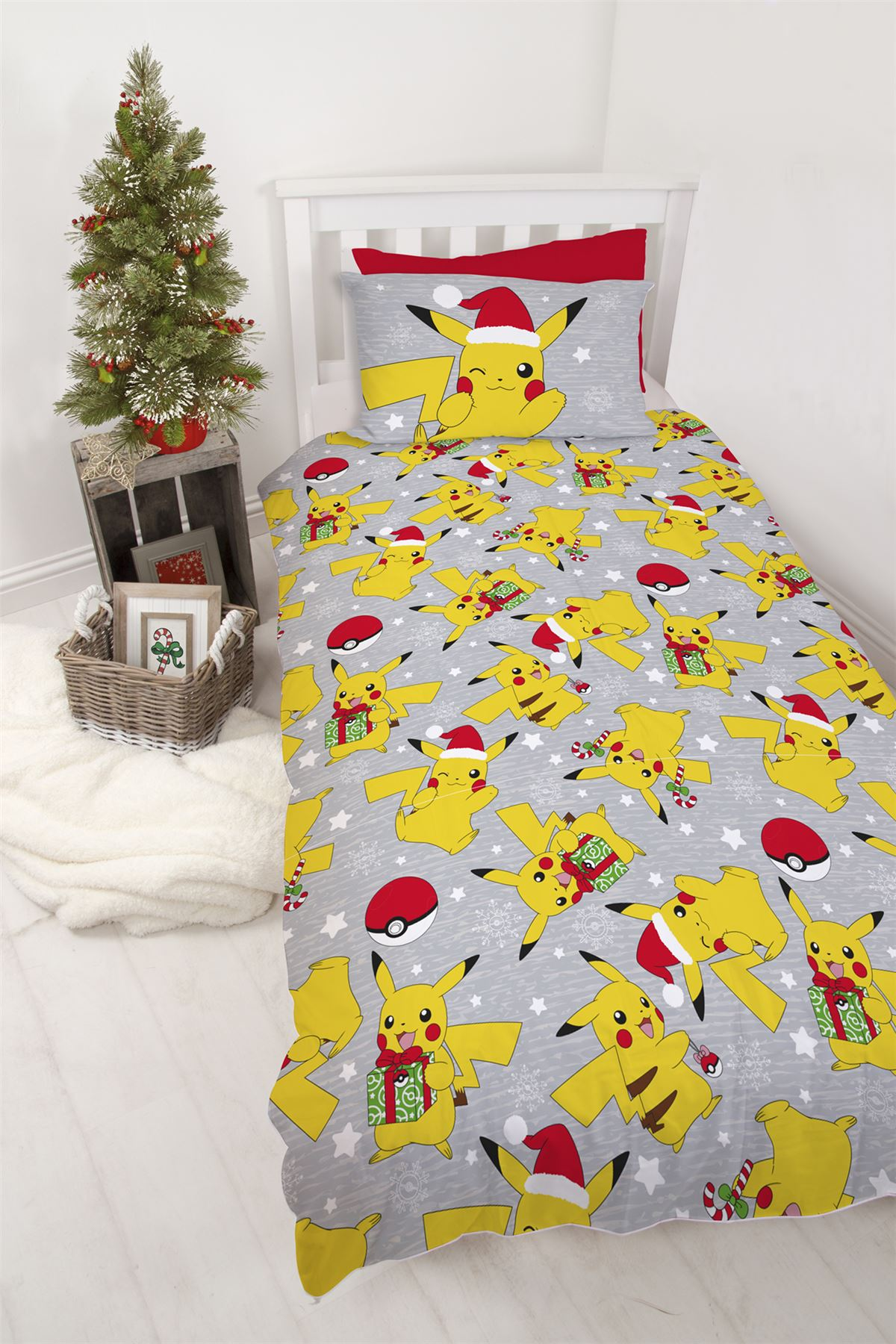 Official-Pokemon-Licensed-Duvet-Covers-Single-Double-Pikachu-Bedding-Gaming thumbnail 4