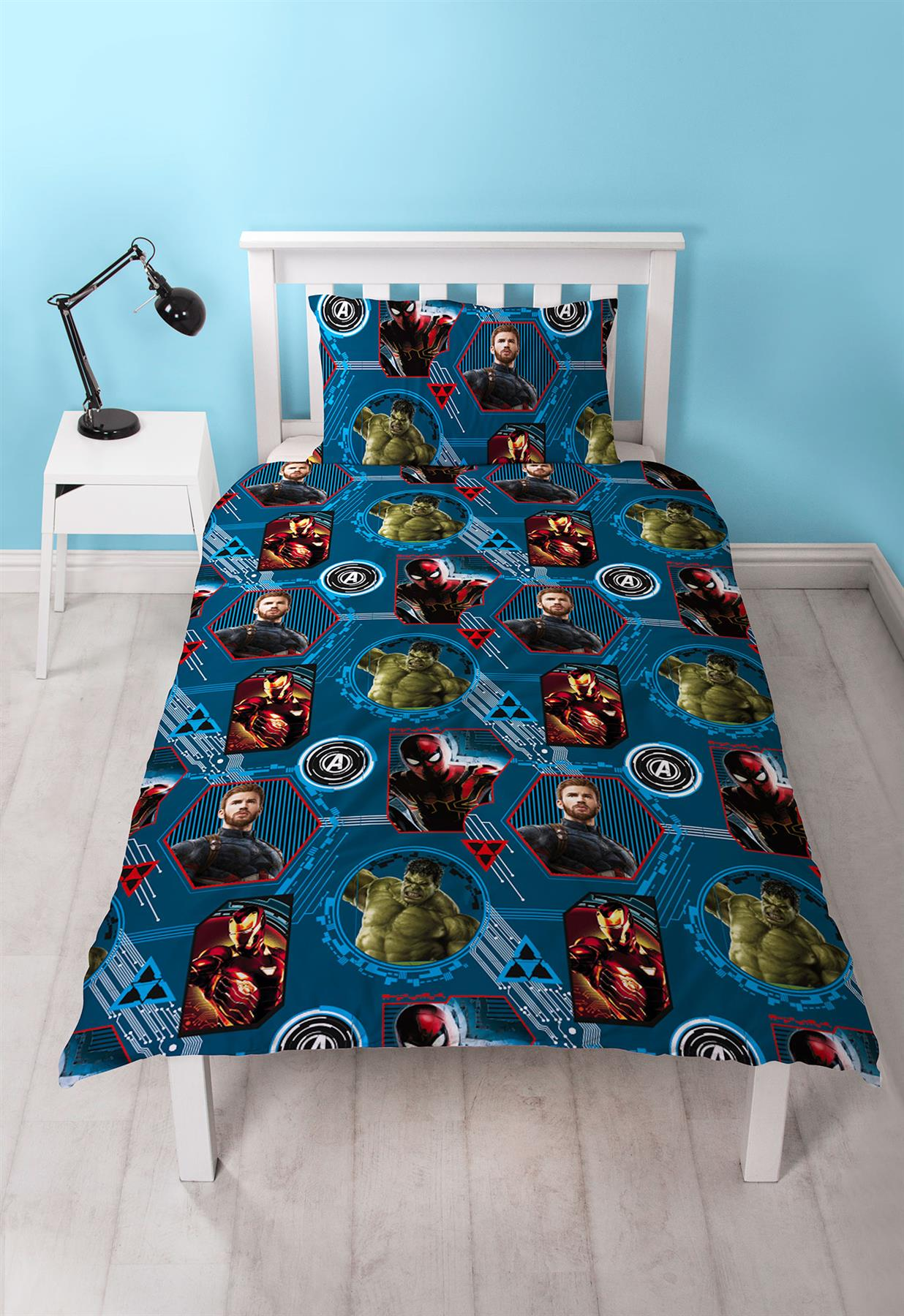 Official-Marvel-Comics-Avengers-Licensed-Duvet-Covers-Single-Double thumbnail 5