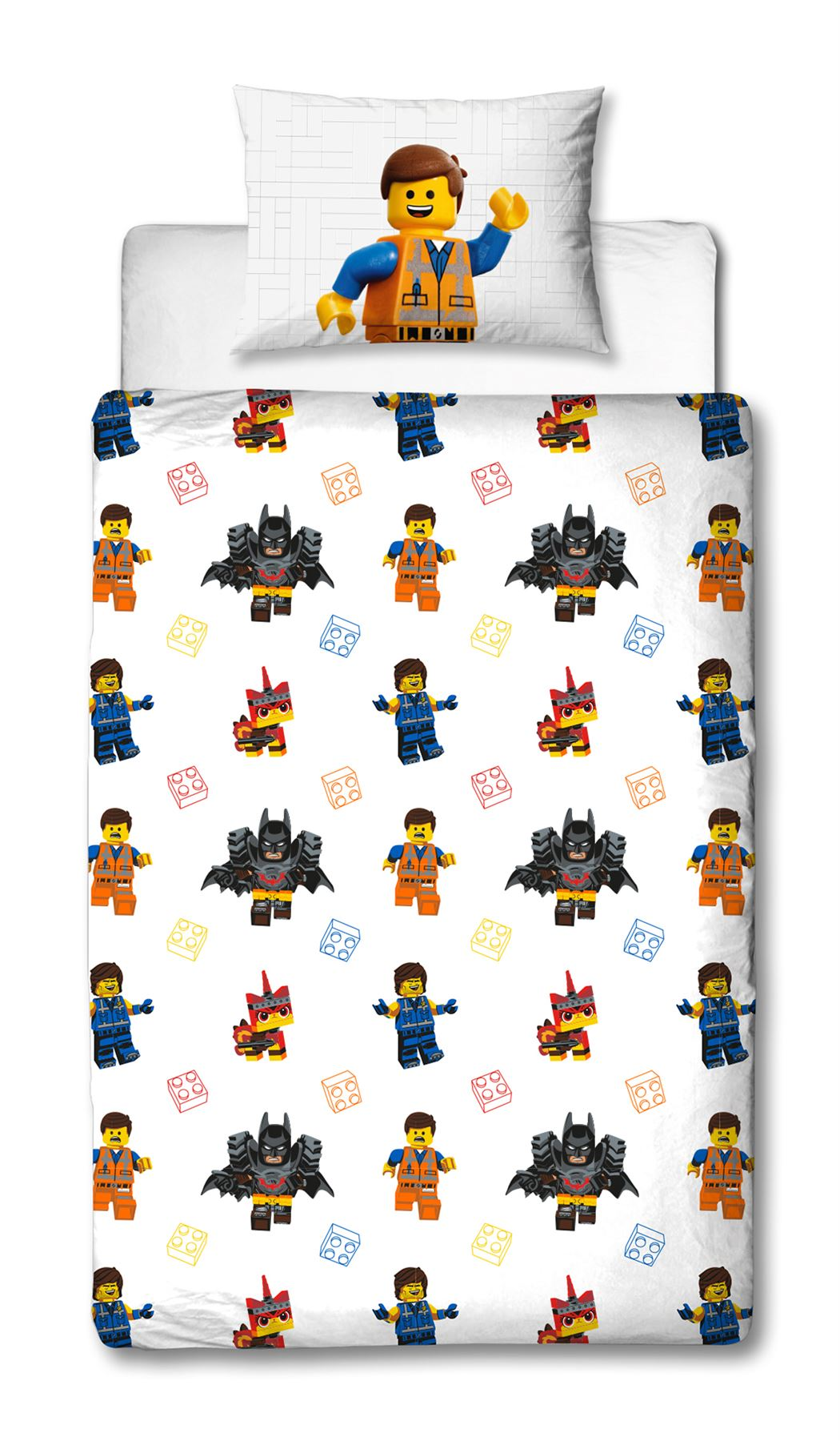 Official-Licensed-Lego-Duvet-Bedding-Ninjago-Batman-Star-Wars-Jurassic thumbnail 25