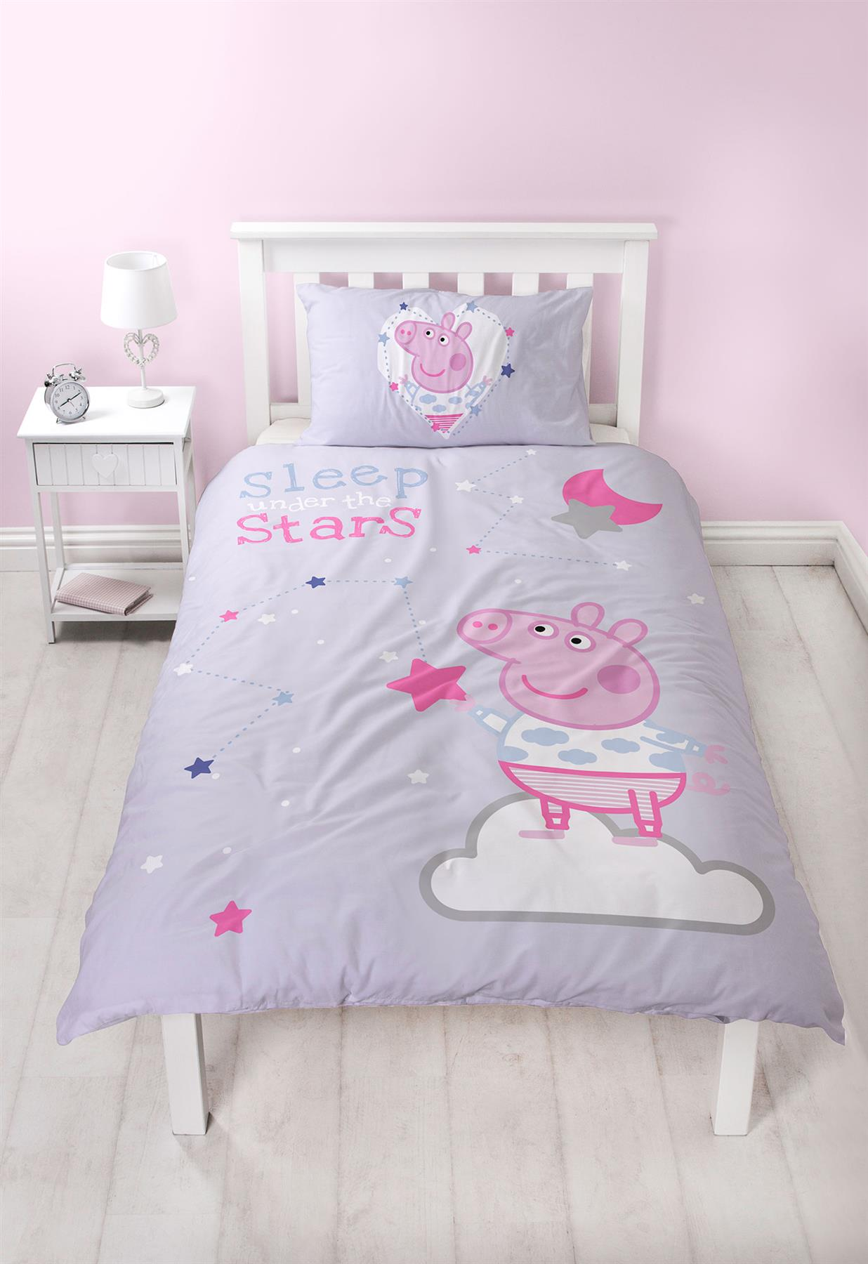 Oficial-Peppa-Pig-George-fundas-nordicas-SINGLE-doble-Ropa-De-Cama-Reversible miniatura 25