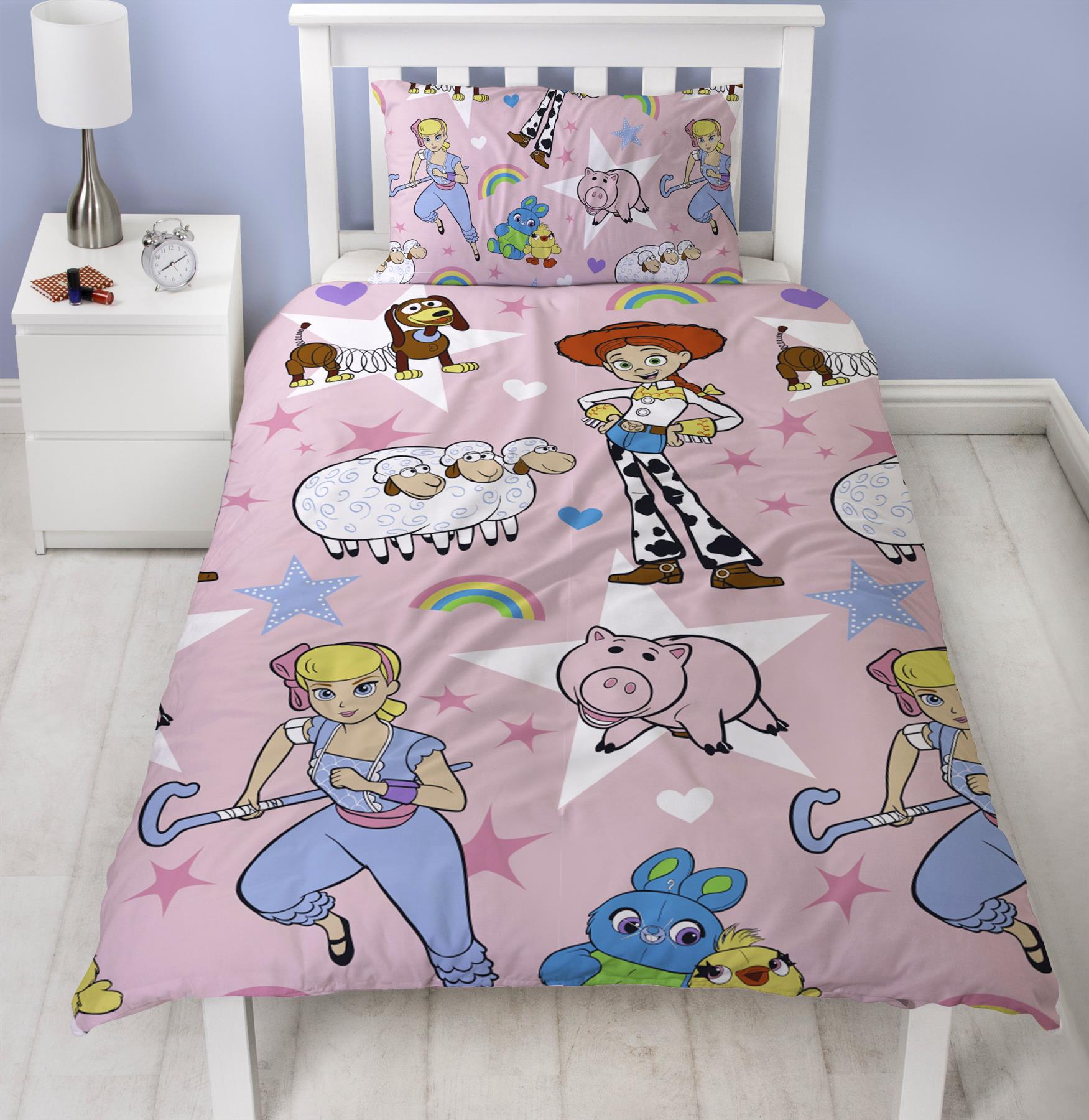 Official-Toy-Story-4-Duvet-Covers-Single-Double-Junior-Bedding-Buzz-Woody-Forky thumbnail 8
