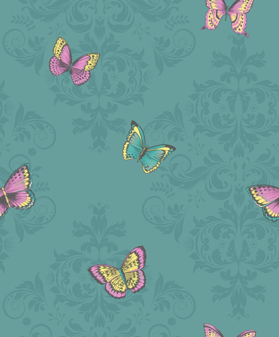 Holden-Decor-Glitter-Butterfly-Damask-Wallpaper-2-Colours