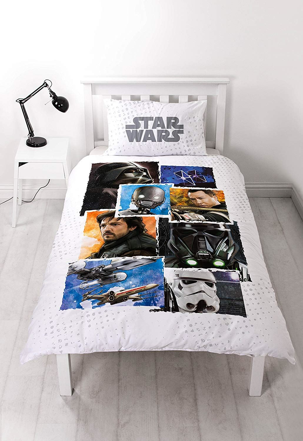 Official-Star-Wars-Licensed-Duvet-Covers-Single-Double-Jedi-Darth-Vader-Lego thumbnail 37