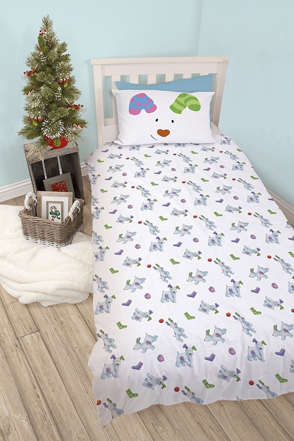 Official-The-Snowman-Duvet-Cover-Single-Double-Reversible-Bedding-Fleece-Blanket thumbnail 16