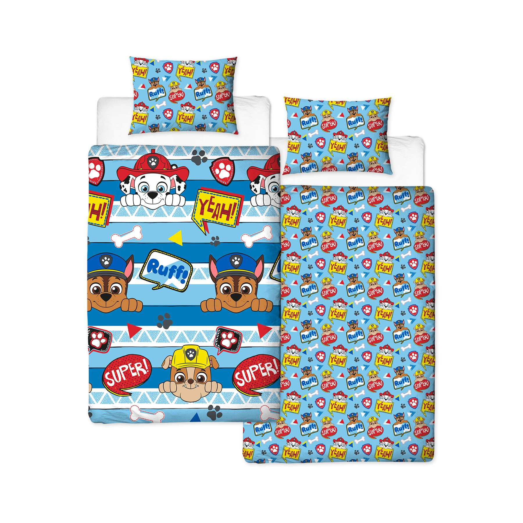 Official-Paw-Patrol-Licensed-Duvet-Covers-Single-Double-Chase-Skye-Marshall thumbnail 32