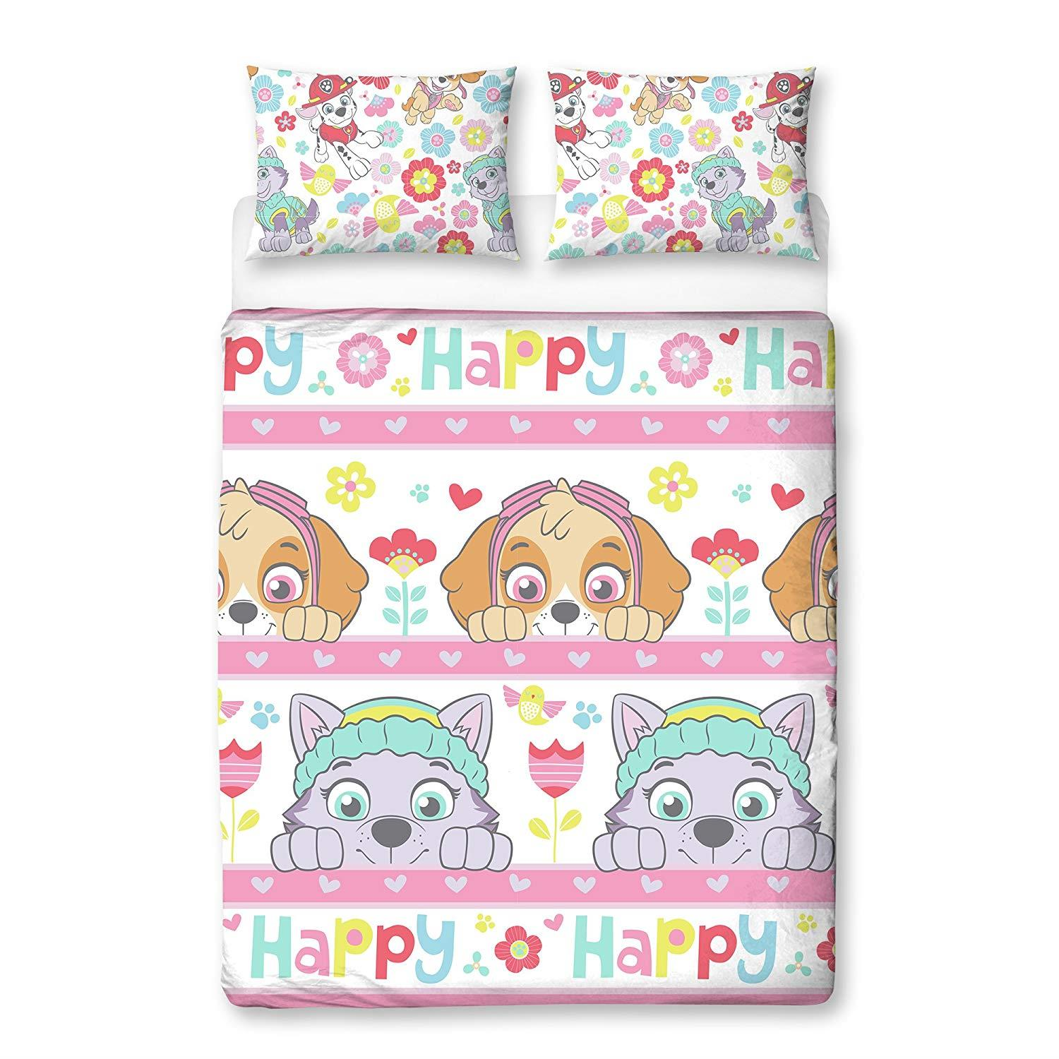 Official-Paw-Patrol-Licensed-Duvet-Covers-Single-Double-Chase-Skye-Marshall thumbnail 7