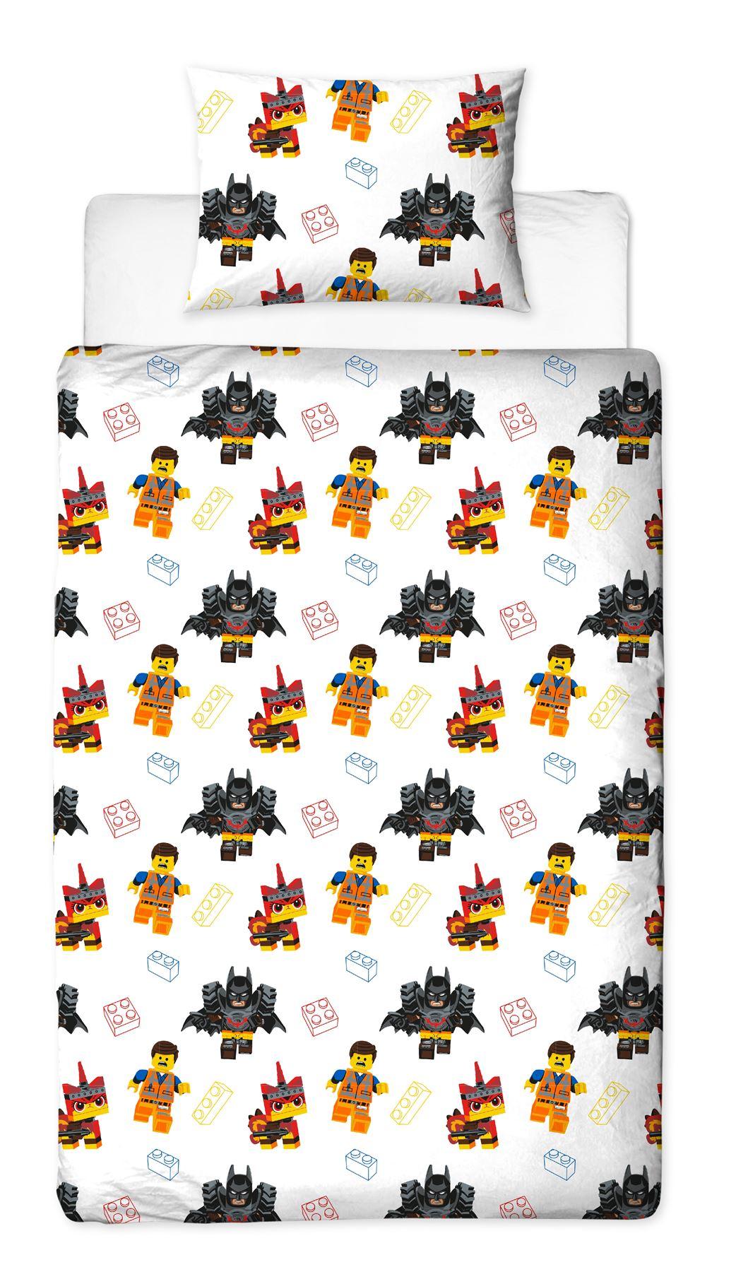 Official-Licensed-Lego-Duvet-Bedding-Ninjago-Batman-Star-Wars-Jurassic thumbnail 21