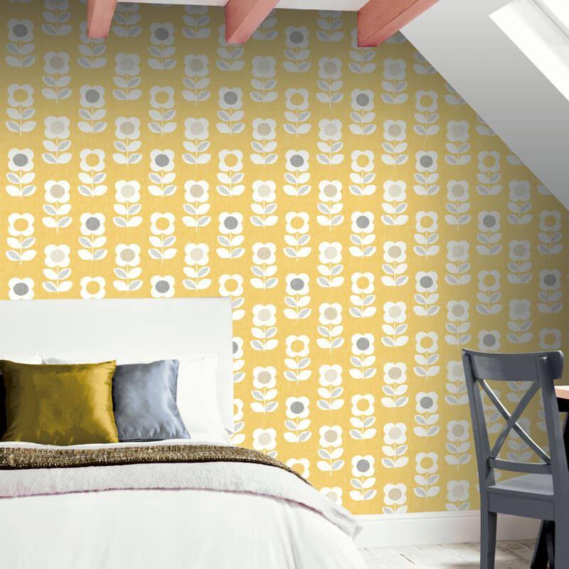 thumbnail 7 - Arthouse-Retro-Floral-Flower-Motif-10m-Wallpaper-3-Colours