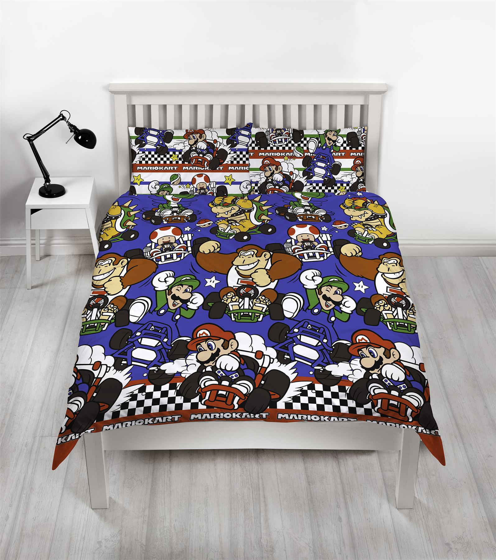 Official-Nintendo-Super-Mario-Licensed-Duvet-Covers-Single-Double-Odyssey-Maker thumbnail 23
