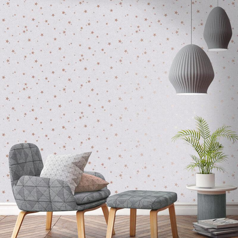 thumbnail 9 - Arthouse-Fine-Decor-Diamond-Stars-Glitter-Wallpaper-10m-6-Colours
