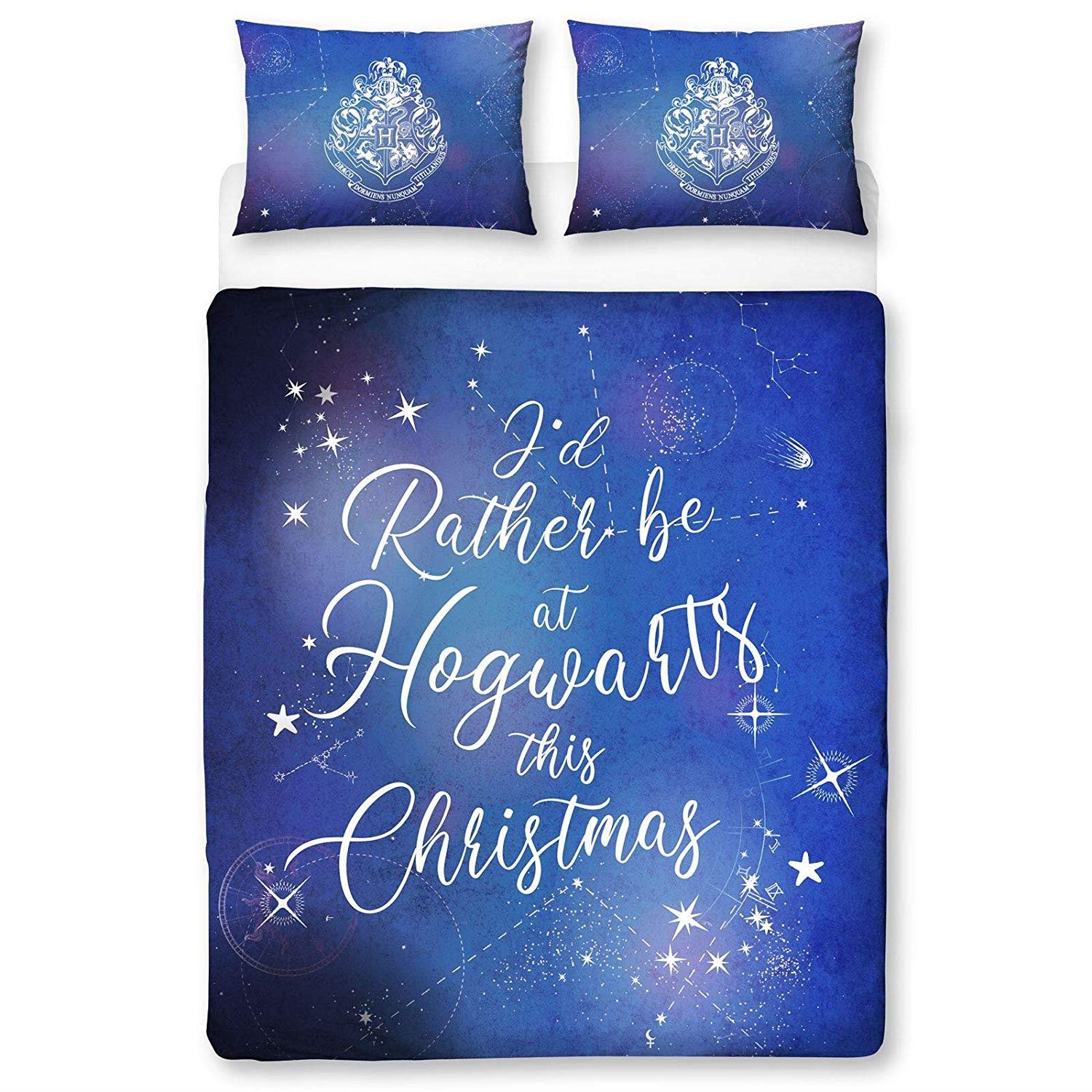 Official-Harry-Potter-Licensed-Duvet-Covers-Single-Double-Muggles-Hogwarts-Charm thumbnail 13