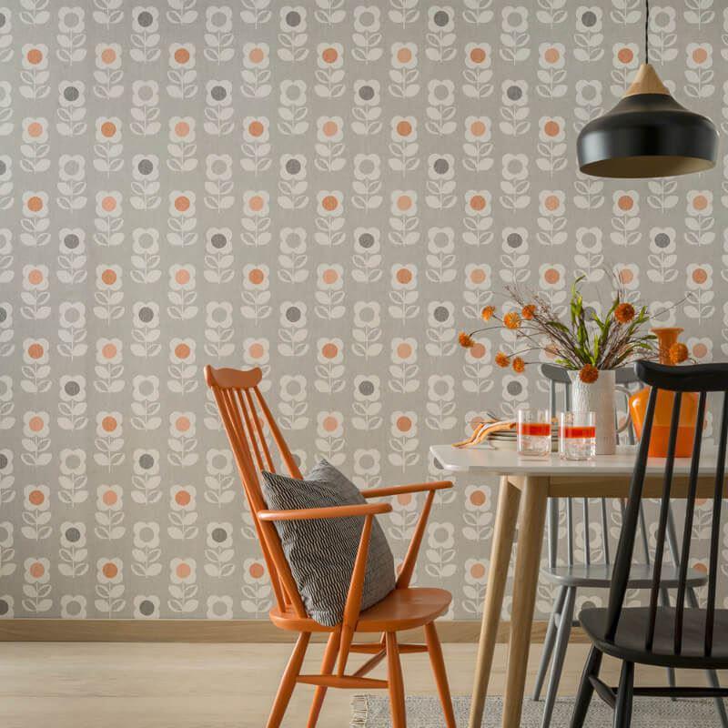 thumbnail 3 - Arthouse-Retro-Floral-Flower-Motif-10m-Wallpaper-3-Colours