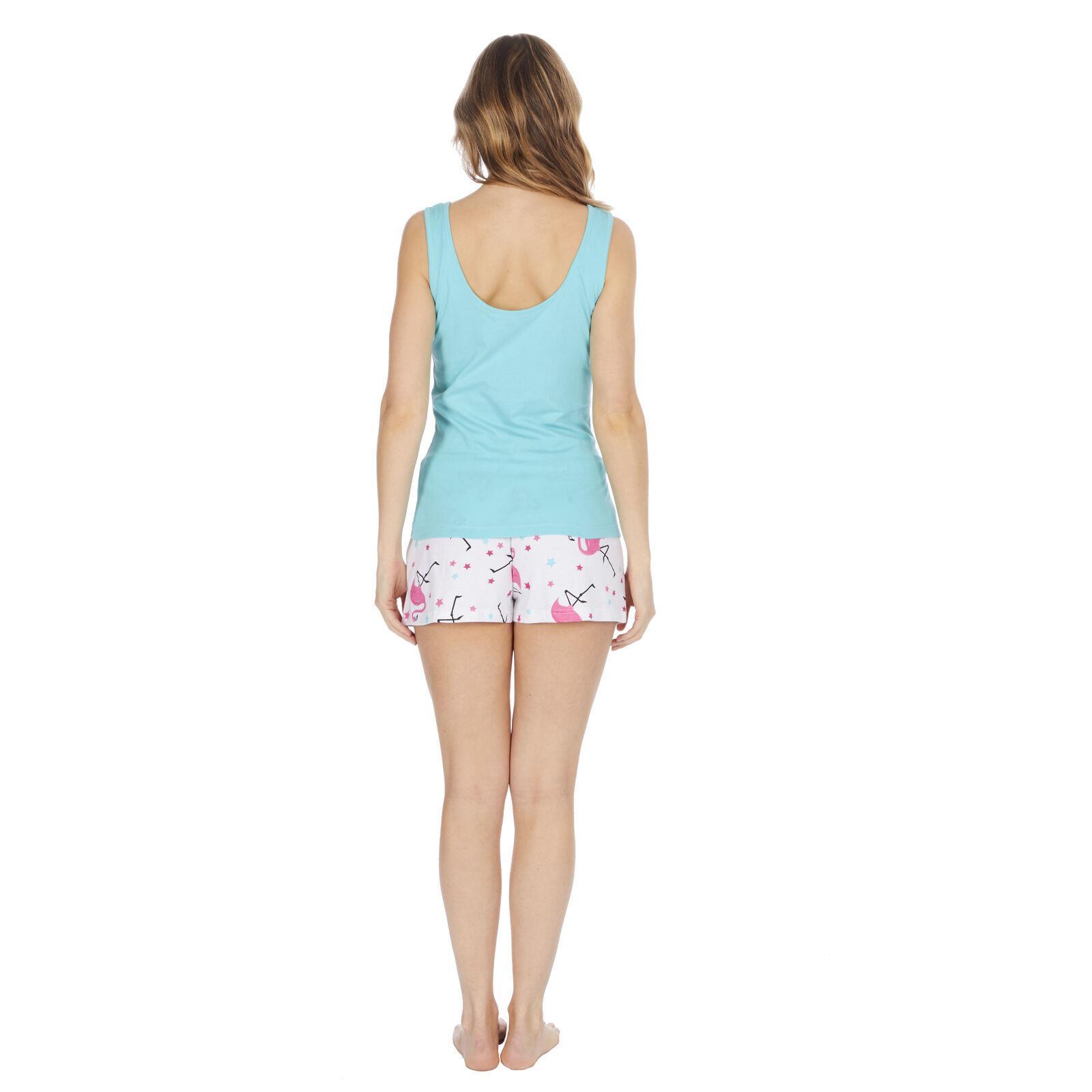 Cotton Fern Print Pajama Shorts | Pajamas | The White