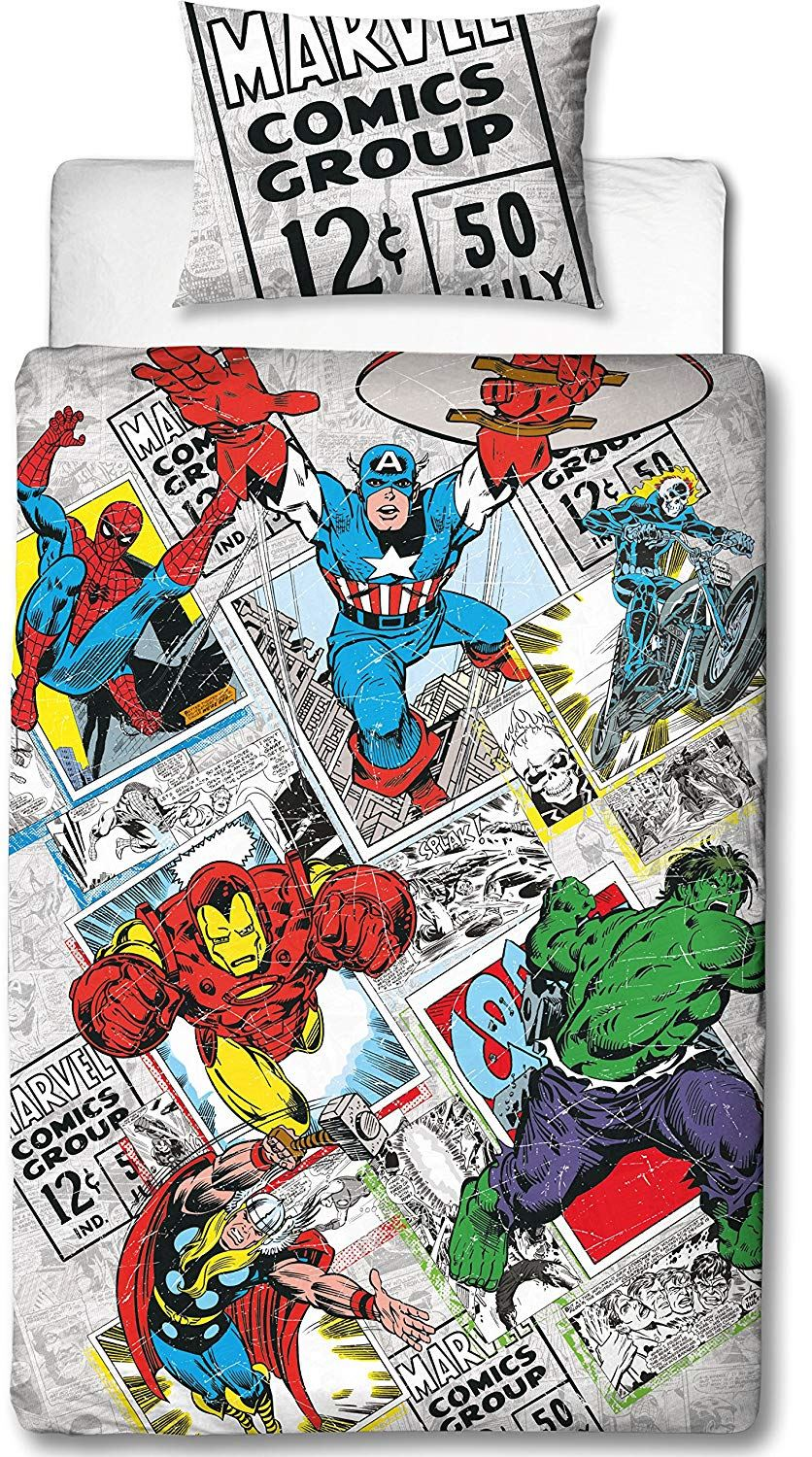 Official-Marvel-Comics-Avengers-Licensed-Duvet-Covers-Single-Double thumbnail 33