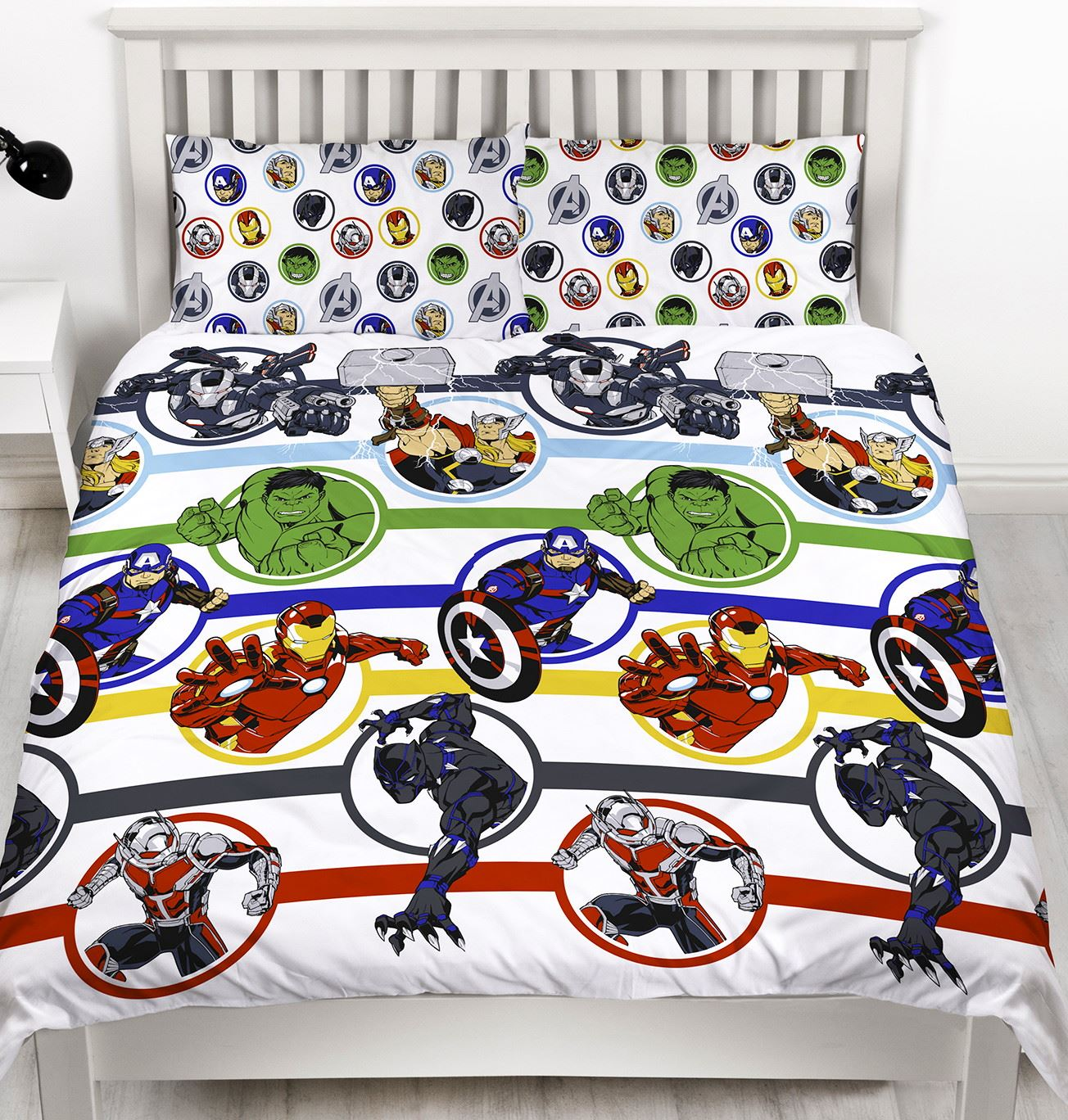 Official-Marvel-Comics-Avengers-Licensed-Duvet-Covers-Single-Double thumbnail 11
