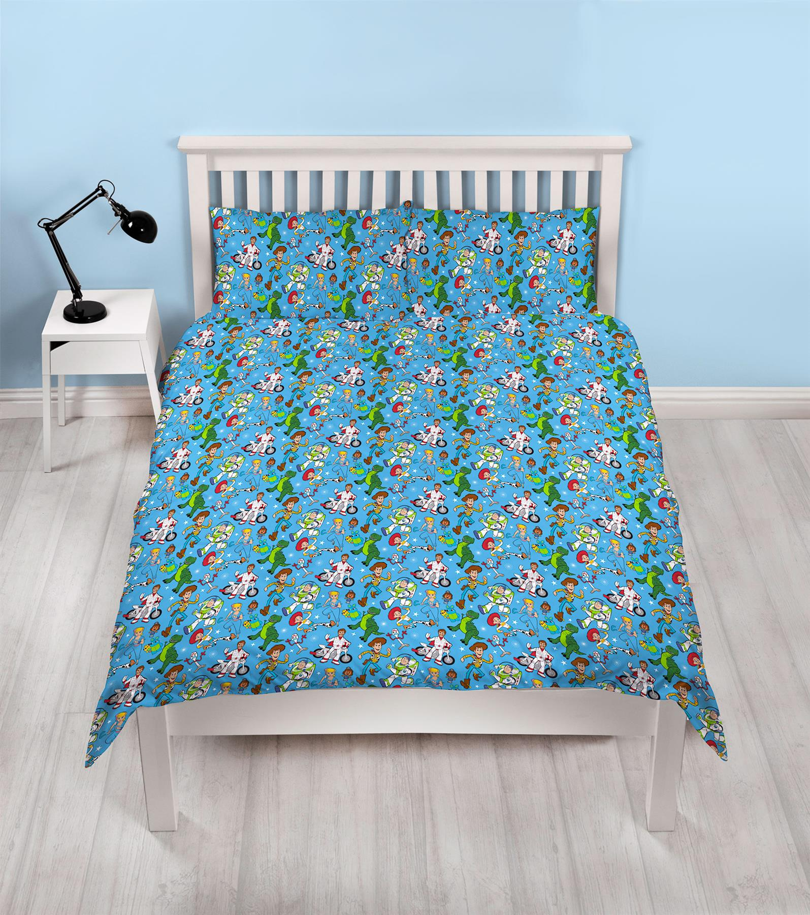 Official-Toy-Story-4-Duvet-Covers-Single-Double-Junior-Bedding-Buzz-Woody-Forky thumbnail 16