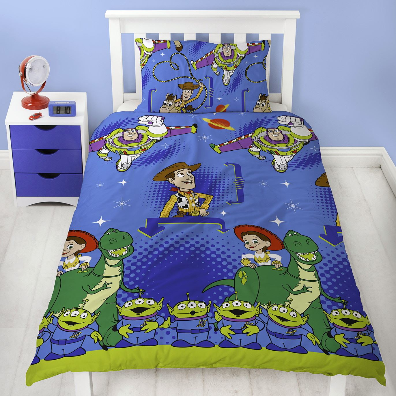 Toy-Story-Friends-Single-Double-Reversible-Duvet-Cover-Bedding-Official-Disney thumbnail 7