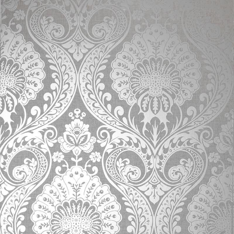 Arthouse-Luxe-Damask-Hexagan-Ogee-Geo-Metallic-Wallpaper-3-Colours thumbnail 7