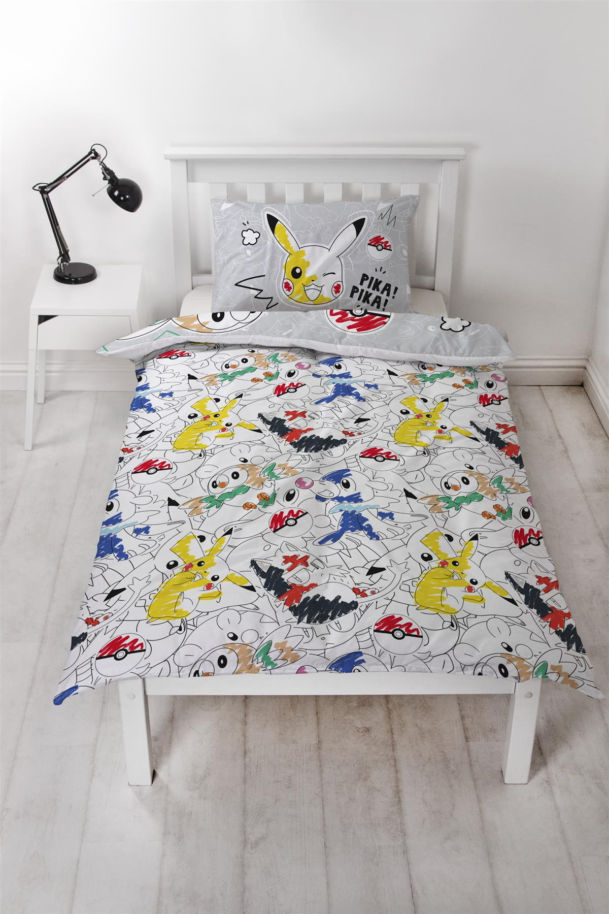 Official-Pokemon-Licensed-Duvet-Covers-Single-Double-Pikachu-Bedding-Gaming thumbnail 10
