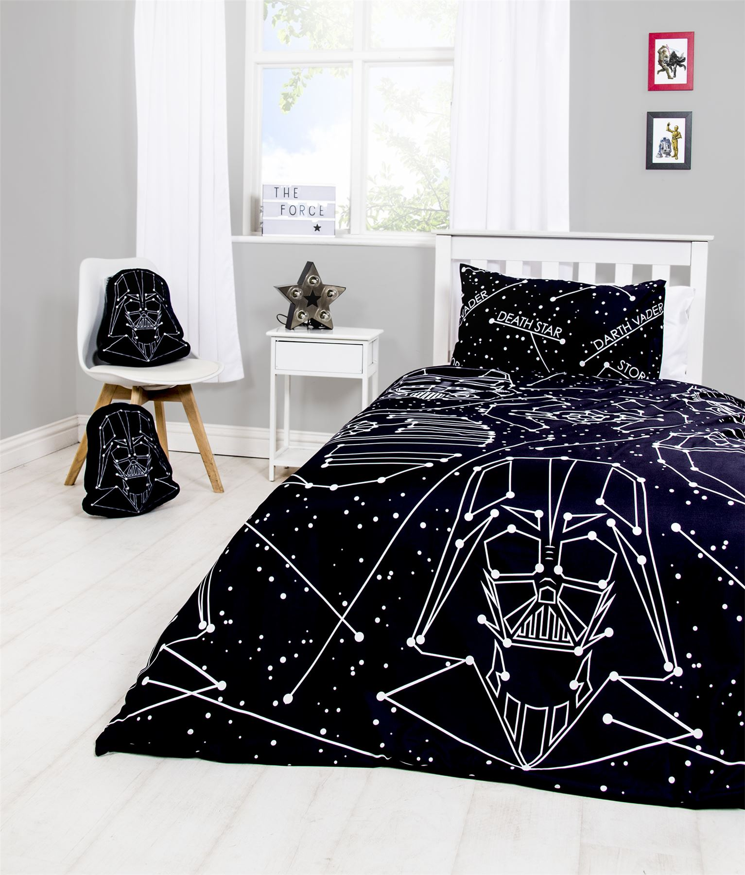 Official-Star-Wars-Licensed-Duvet-Covers-Single-Double-Jedi-Darth-Vader-Lego thumbnail 41