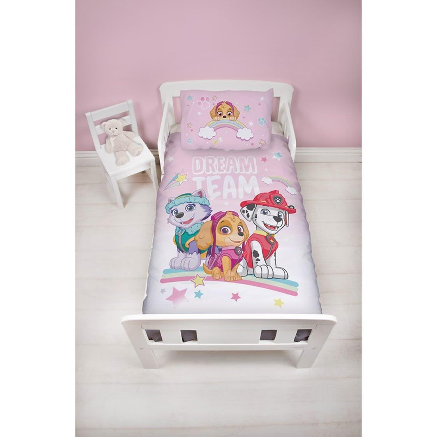 Official-Paw-Patrol-Licensed-Duvet-Covers-Single-Double-Chase-Skye-Marshall thumbnail 19