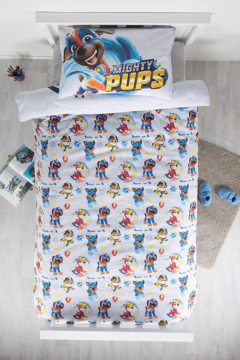 Official-Paw-Patrol-Licensed-Duvet-Covers-Single-Double-Chase-Skye-Marshall thumbnail 41