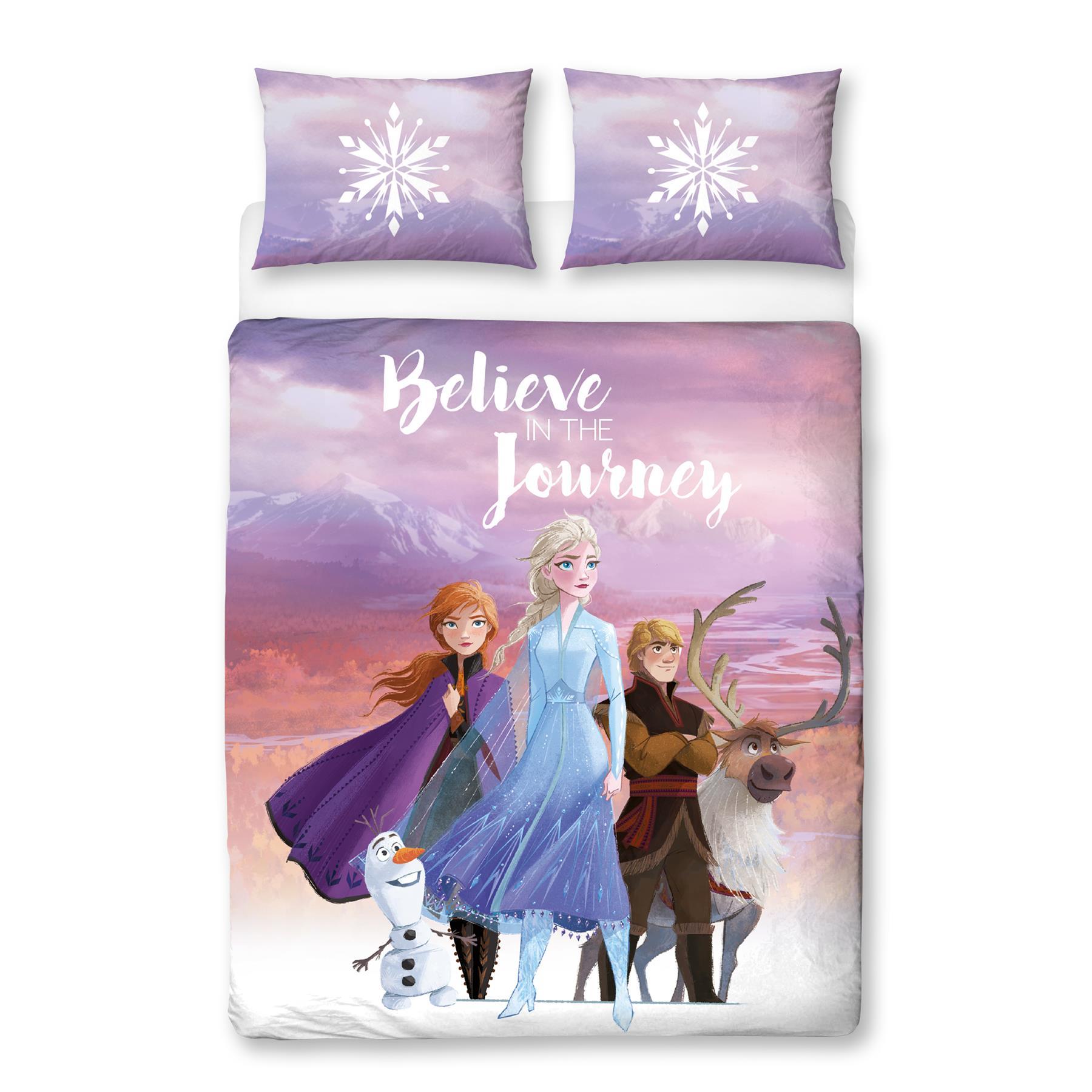 Official-Frozen-2-Duvet-Covers-Single-Double-Reversible-Bedding-Elsa-Anna-Olaf thumbnail 10