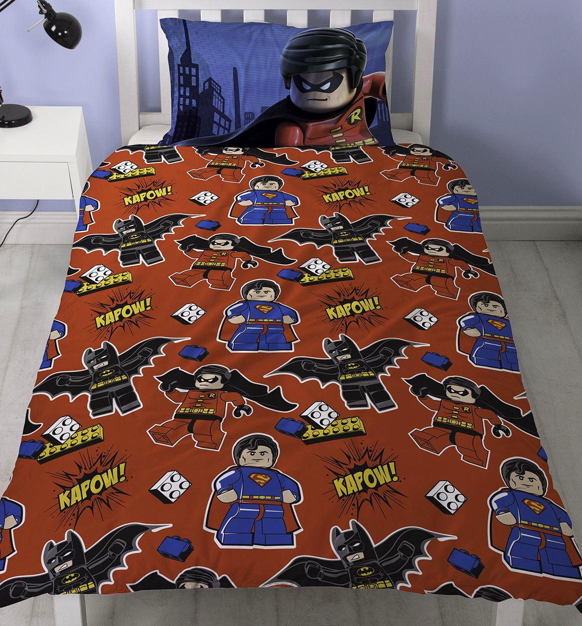 Official-Licensed-Lego-Duvet-Bedding-Ninjago-Batman-Star-Wars-Jurassic thumbnail 9