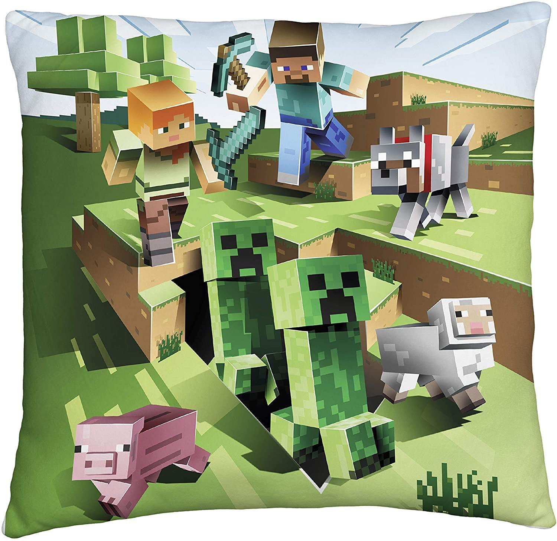 miniatura 49 - Minecraft Biancheria da letto Creeper PIUMONI Asciugamano Cuscino Coperta-venduta separatamente
