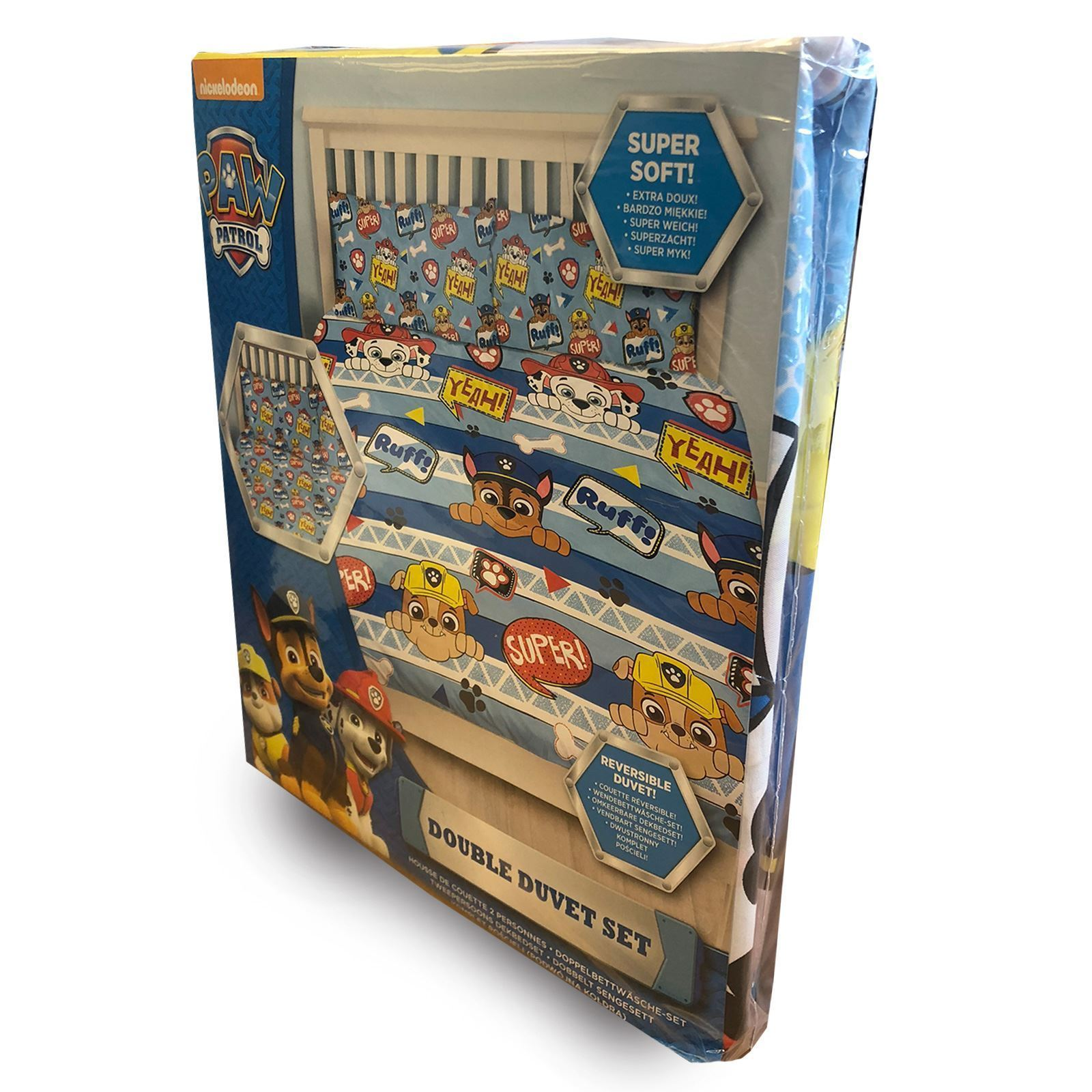 Official-Paw-Patrol-Licensed-Duvet-Covers-Single-Double-Chase-Skye-Marshall thumbnail 24