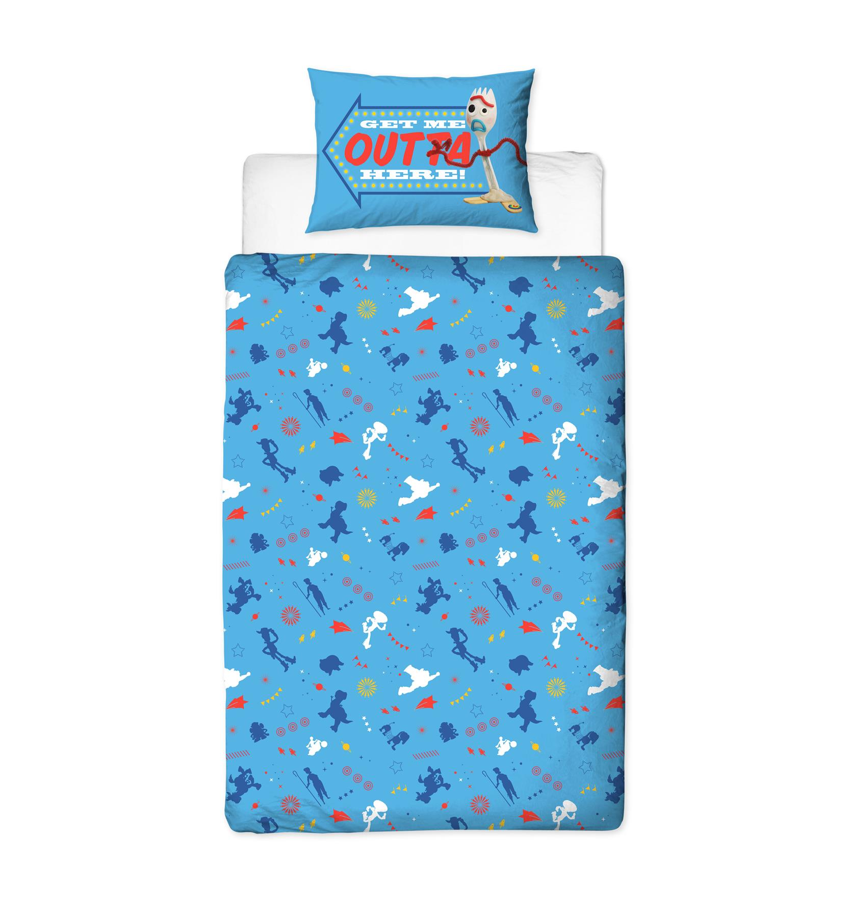 Official-Toy-Story-4-Duvet-Covers-Single-Double-Junior-Bedding-Buzz-Woody-Forky thumbnail 13