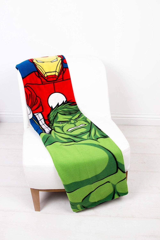 Official-Licensed-Fleece-Blanket-Bed-Throw-100-x-150cm-Fortnite-Disney-Lego-DC thumbnail 3