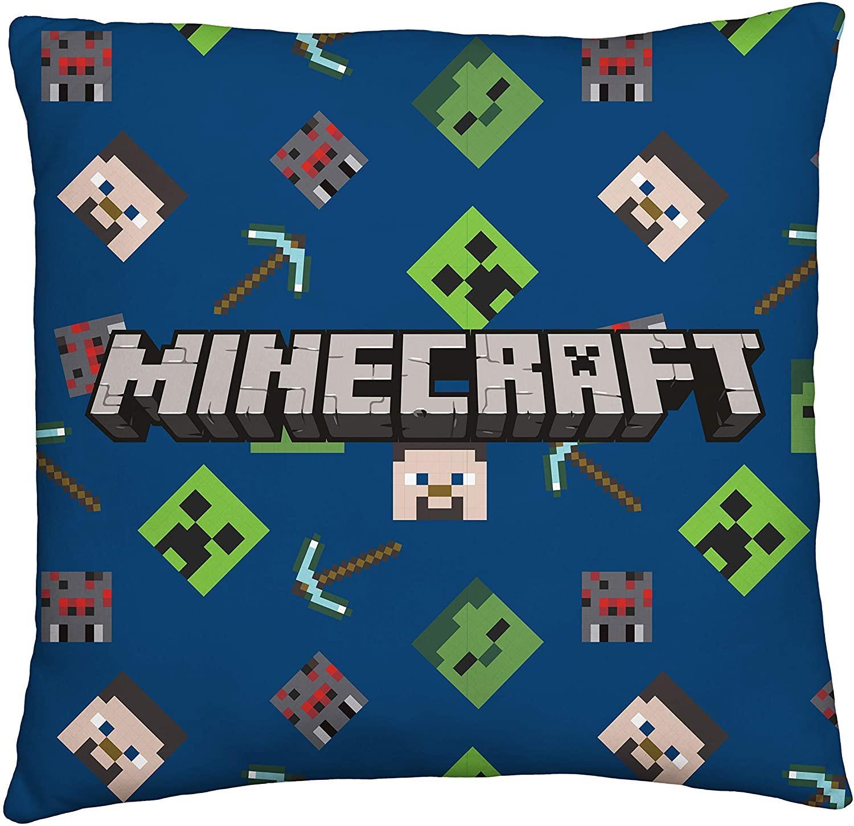 miniatura 35 - Minecraft Biancheria da letto Creeper PIUMONI Asciugamano Cuscino Coperta-venduta separatamente