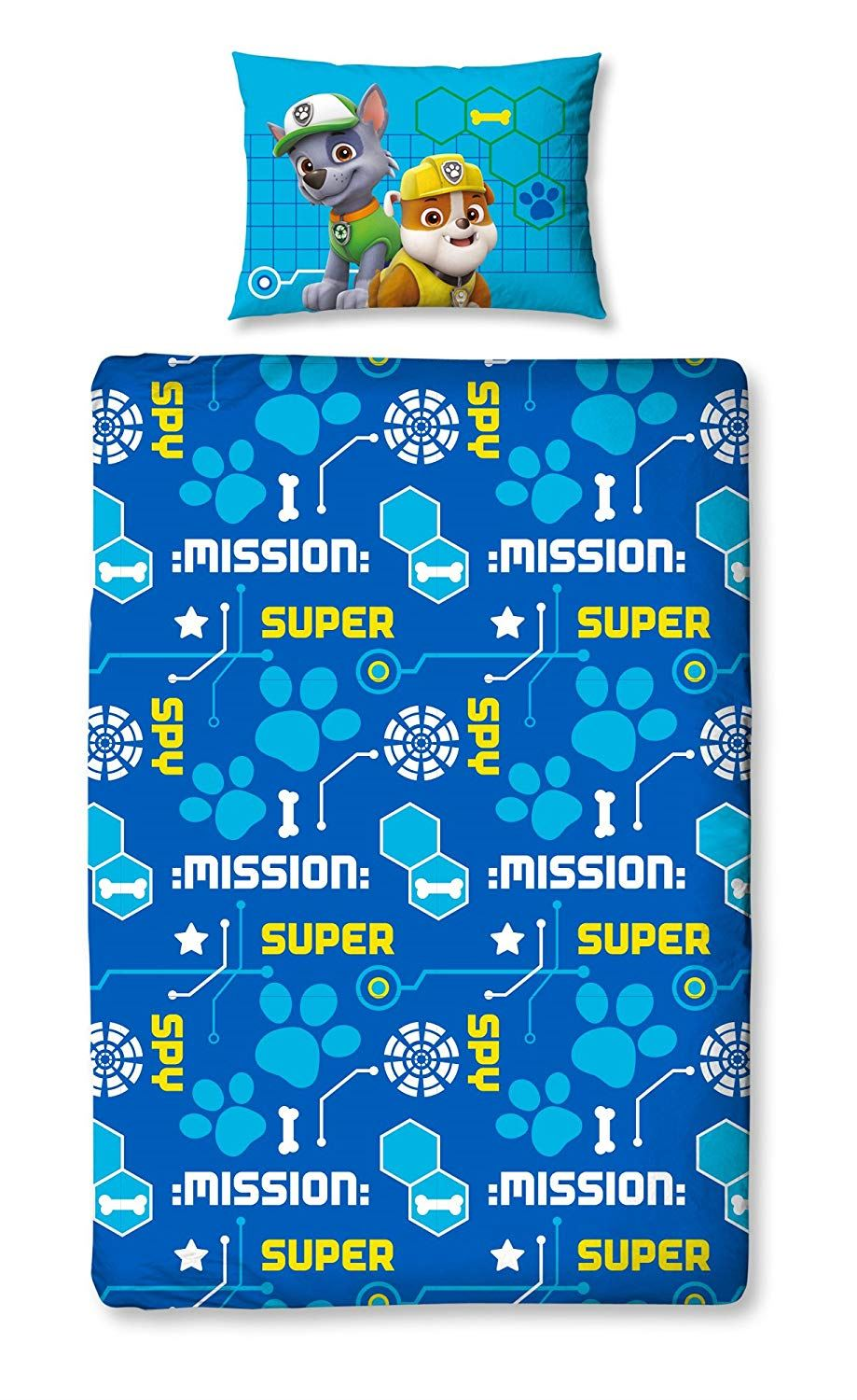 Official-Paw-Patrol-Licensed-Duvet-Covers-Single-Double-Chase-Skye-Marshall thumbnail 35