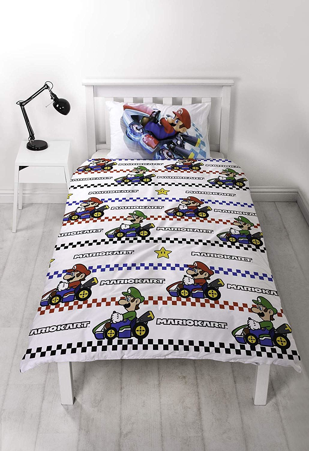 Official-Nintendo-Super-Mario-Licensed-Duvet-Covers-Single-Double-Odyssey-Maker thumbnail 12