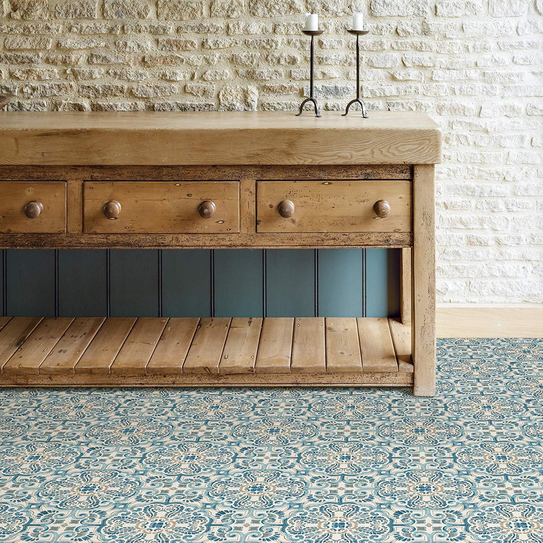 WallPops-Bathroom-Kitchen-Peel-amp-Stick-Floor-Tiles-Vinyl-10pk-12-034-x-12-034 thumbnail 11