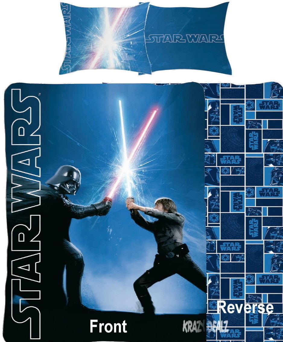 Official-Star-Wars-Licensed-Duvet-Covers-Single-Double-Jedi-Darth-Vader-Lego thumbnail 29