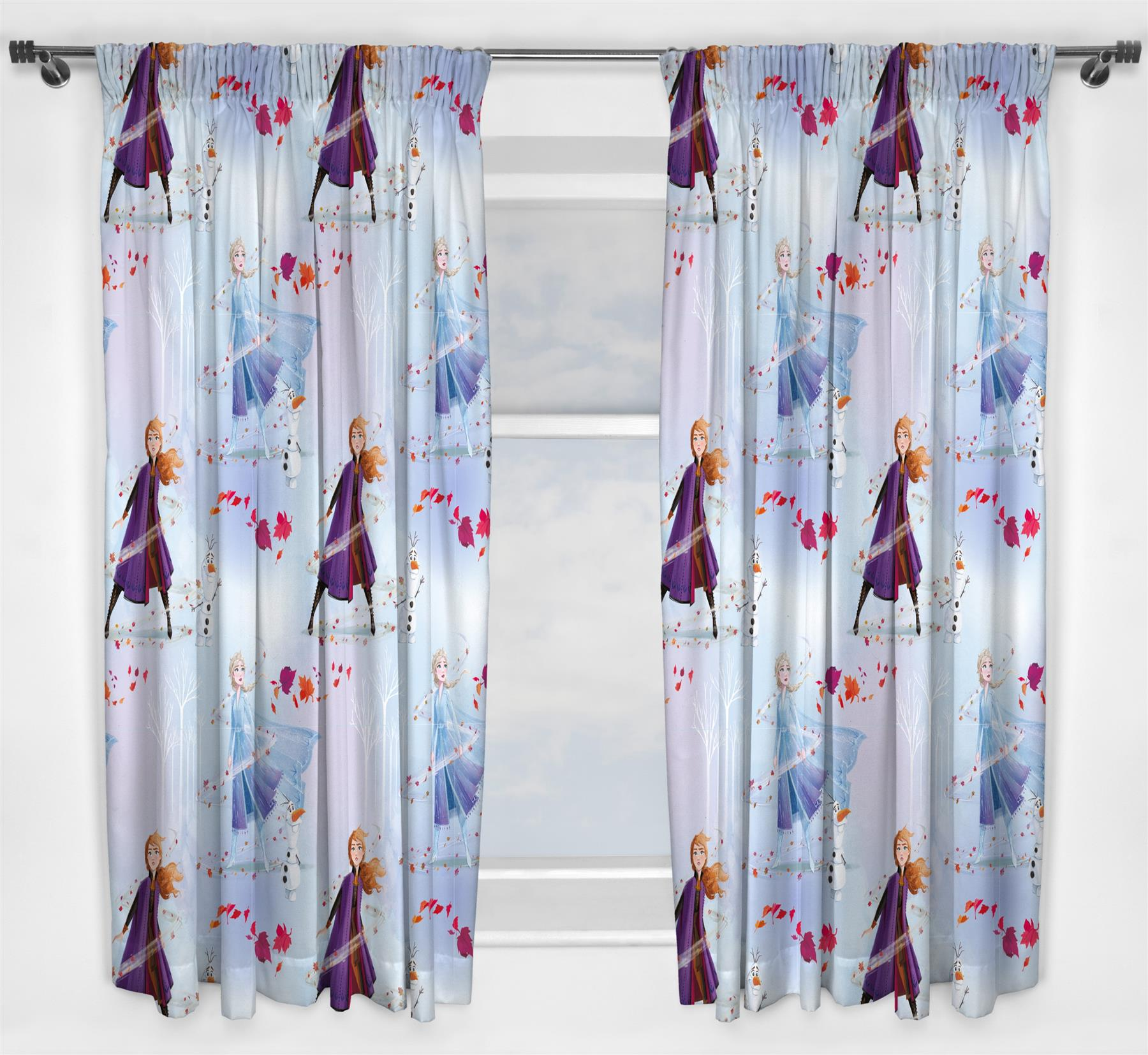 Official-Licensed-Character-Pleated-Curtains-54-034-or-72-034-Drop-Disney-Boys-Girls thumbnail 17