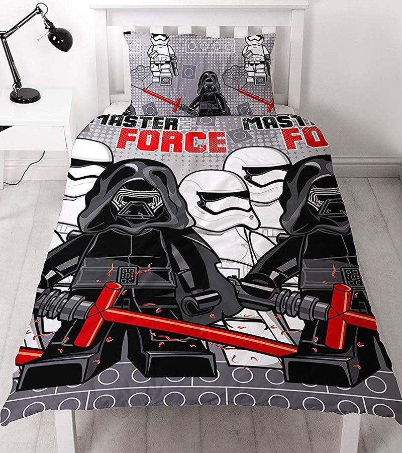 Official-Star-Wars-Licensed-Duvet-Covers-Single-Double-Jedi-Darth-Vader-Lego thumbnail 13